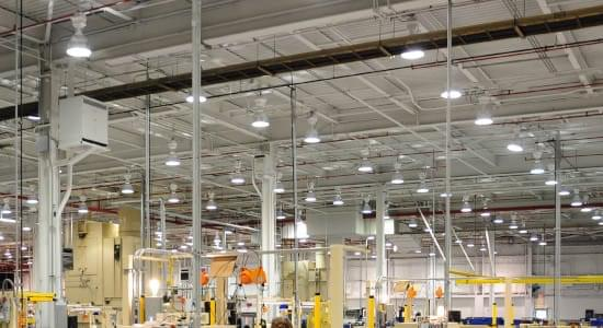 Energy Saving Factory Lighting System