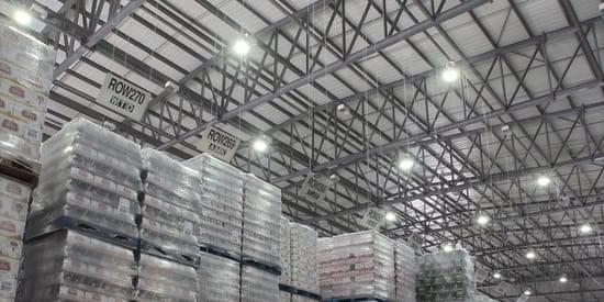 """Up to 80% of warehouse energy usage can be lighting"""